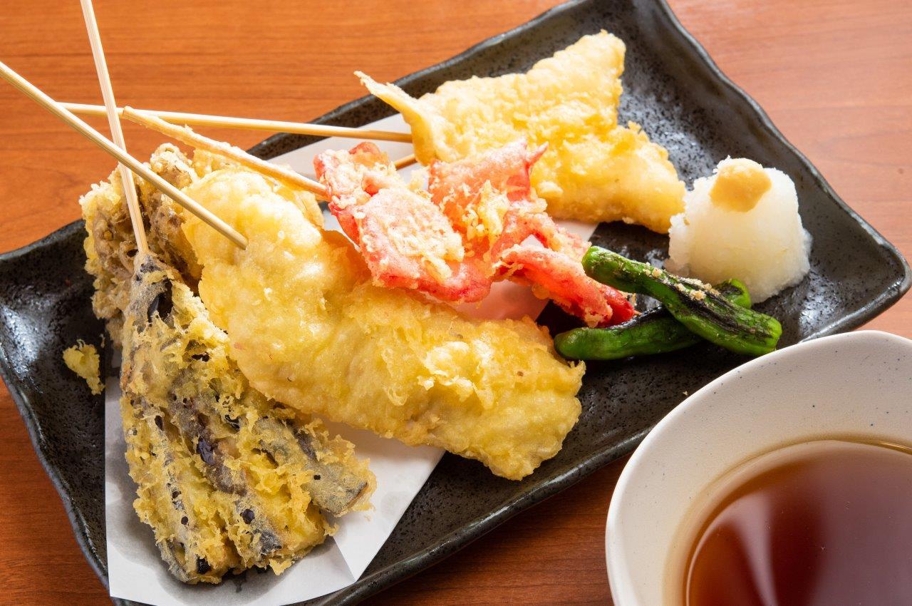 串天ぷら5種盛り合わせ