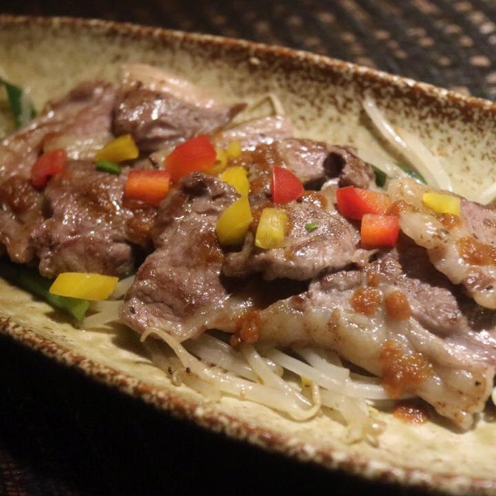 ラム肉のグリルハバネロスモーキー