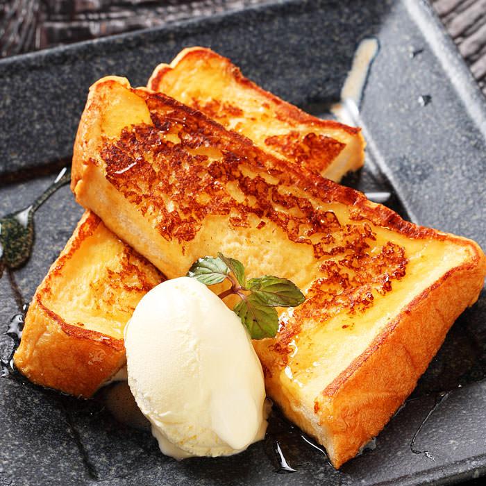 鉄板焼き屋のフレンチトースト