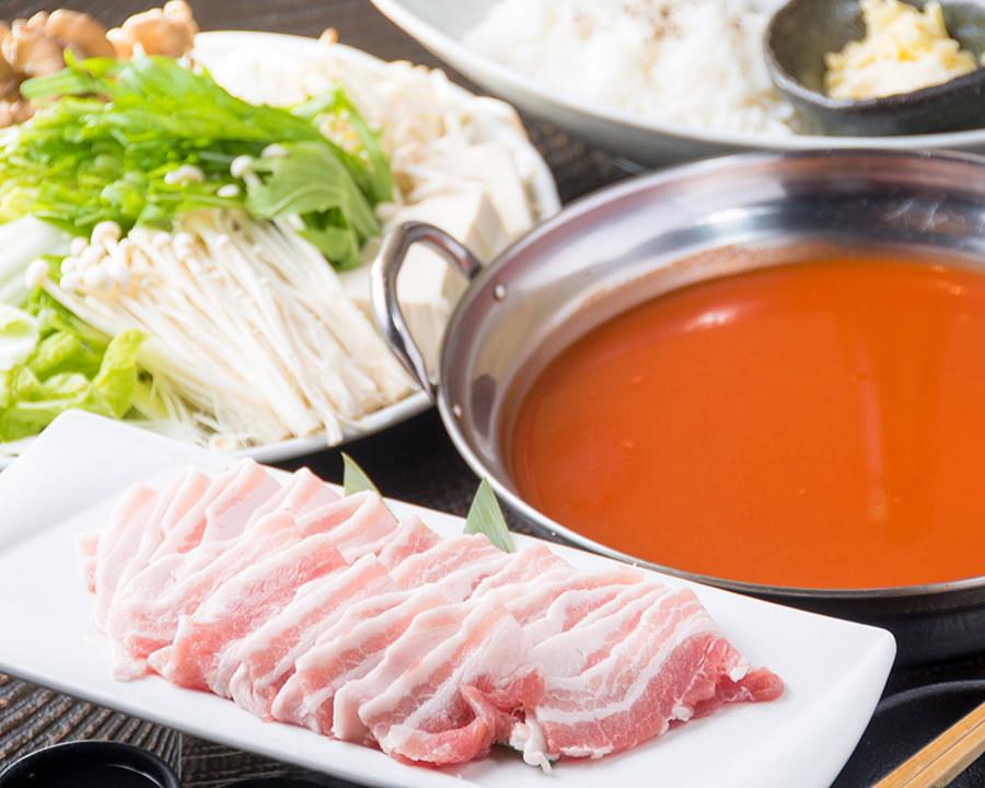 九州産豚しゃぶトマトソース